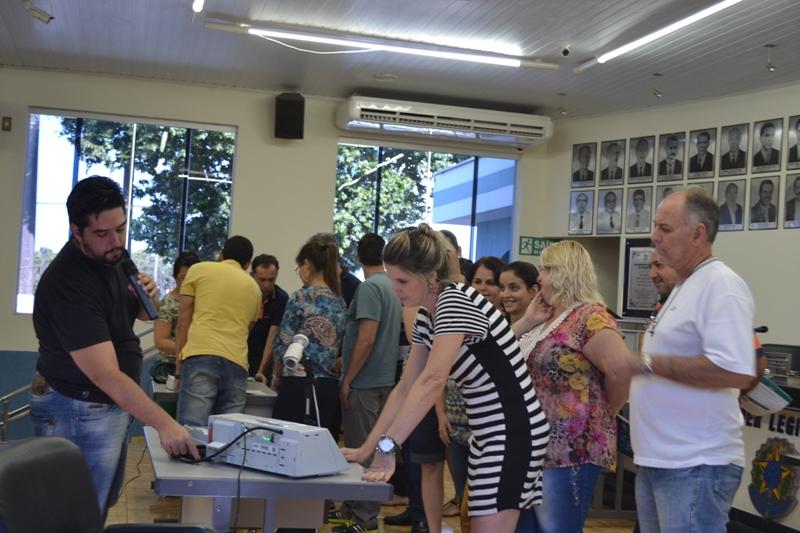 Treinamento de mesários - Eleições 2016