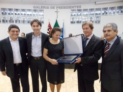 Cal Ribeiro, Maicon Lopes, Leontina Lenhari Galvão, Sebastião Geraldo Cardoso e Erney Antônio de Paula.