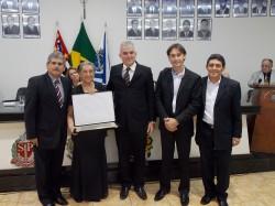 Erney A. de Paula,  Yeda Villela Nogueira, José Gibran, Maicon Lopes e Cal Ribeiro.