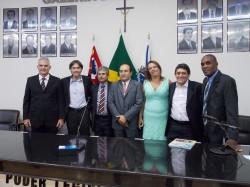 José Gibran, Maicon Lopes, Erney A. de Paula, Manoel Brandão, Fabiana Sevieiro, Cal Ribeiro e Ailton A. Ferreira.