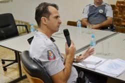 Capitão D'Arbo em reunião da CESP.
