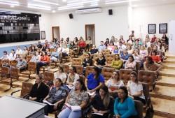 Audiência Pública sobre o  Plano Municipal de Educação.