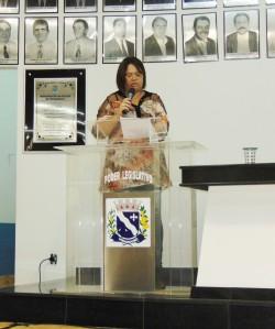 Fabiana Lourenço da Silva Sevieiro - Audiência Pública  sobre o Plano Municipal de Educação.