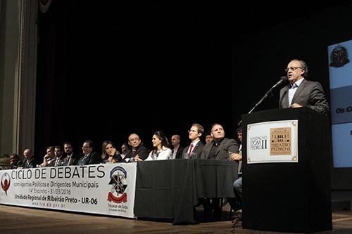 20ª edição do Ciclo de Debates com Agentes Políticos e Dirigentes Municipais.