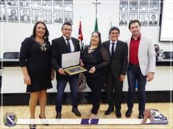 Médicos cubanos recebem Título de Cidadania Viradourense em Sessão Solene.