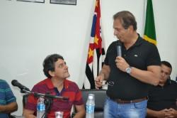 Deputado Jorge Tadeu visita o município e anuncia mendas,